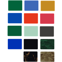 Distributor Aluminium Composite Panel Alustar Warna cerah 3