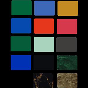 Aluminium Composite Panel Alustar Warna cerah
