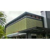 Beli Aluminium Composite Panel lubang motif suka suka 4