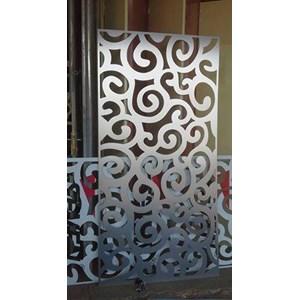 Aluminium Composite Panel lubang mawar halus