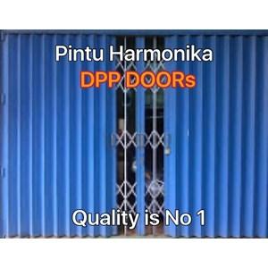 Pintu Besi Harmonika DPP Doors dan varia di surabaya