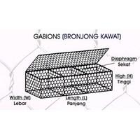 Jual kawat bronjong 2x1x0.5 termurah di surabaya 2