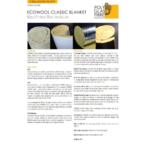ROCKWOOL GLASWOOL ECO WOOL