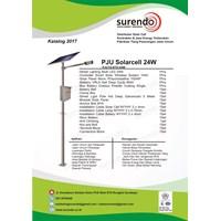 Paket Pju Tenaga Surya 24W Led - Lampu Solar 1