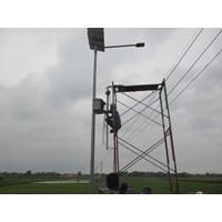 Beli Paket Pju Tenaga Surya 42W Led - Lampu Solar 4