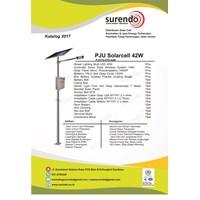 Paket Pju Tenaga Surya 42W Led - Lampu Solar 1