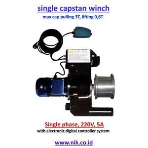 Portable Winch - Single Capstan Winch Plt V1.6