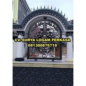 Pagar klasik mewah By SURYA LOGAM PERKASA