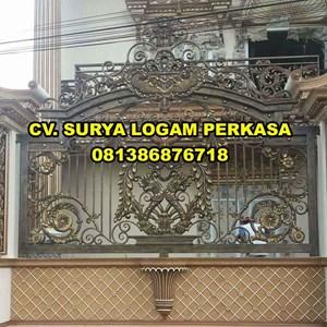 pagar rumah mewah By SURYA LOGAM PERKASA