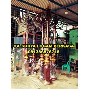 tiang lampu pju By SURYA LOGAM PERKASA