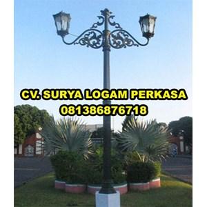 Tiang Lampu Taman By SURYA LOGAM PERKASA
