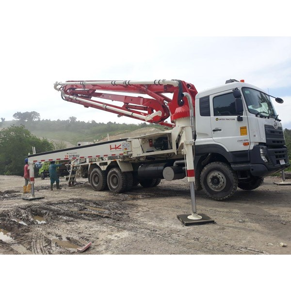 Truck Concrete Pump