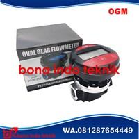 DN 50 mm Flow Meter OGM / Flow Meter Minyak Solar 1 Inchi Murah 5