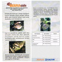 Dermacide Biofungisida Bio Pestisida Mengandung Trichoderma Pengendali Ganoderma  1