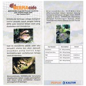 Dermacide Biofungisida Bio Pestisida Mengandung Trichoderma Pengendali Ganoderma