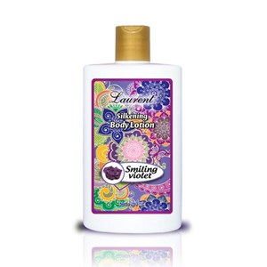 Laurent Silkening Body Lotion Smiling Violet 250ml