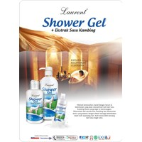 Jual Laurent Shower Gel Goat's Milk 1000mL  2