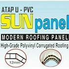 Atap Pvc Sun panel 12mm 1