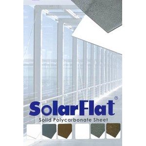 Awning Polycarbonate SOLARFLAT 3mm