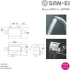 Kran Bathtub SAN-EI Berkualitas dan Bergaransi SK2890 3