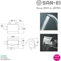 Kran Bathtub SAN-EI Berkualitas dan Bergaransi SK2890