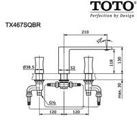 Jual TOTO TX469SOBR 2