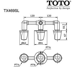 TOTO TX469SL