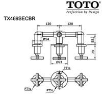 Jual TOTO TX469SECBR 2