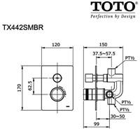 Jual TOTO TX442SMBR