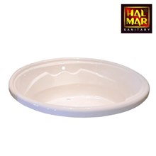 Bathtub Marble Halmar Sunflower
