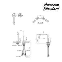 Jual Kran Wastafel American Standard Deck Mounted Basin Mixer tipe F073K032 2