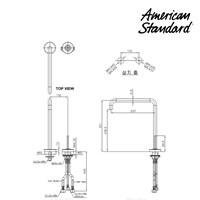 Jual Kran Air F073K042 American Standard 2