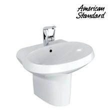 Wastafel American Standard Wall Hung Lavatory Semi Pedestal 60cm Model La Vita