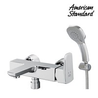 Kran dan Shower Exposed Bath & Shower Mixer with Hand Spray set 1