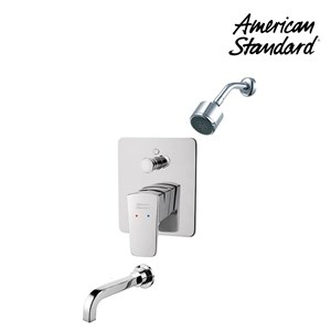 Shower American Standard In Wall Bath & Shower with Head Shower & Spout