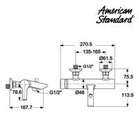 Jual Shower American Standard Active Exposed Bath & Shoower WF 2