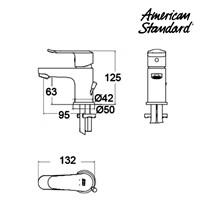 Jual Kran Air American Standard Neo Modern SH SL Basin Mixer 2