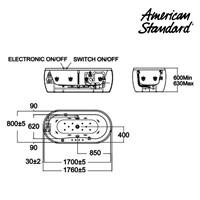 Jual Bathtub American Standard Acacia Tub 1.7 M 2