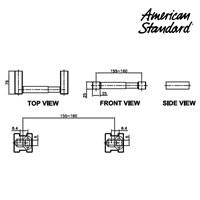 Jual Gantungan Tissue American Standard Acacia Paper Holder Cover Y 3400-43 2