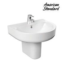 Wastafel American Standard Concept D-SHape Lava with Pedestal 1
