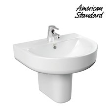 Wastafel American Standard Concept D-SHape Lava with Pedestal