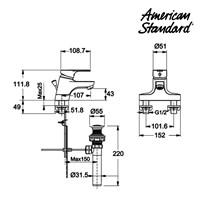 Jual Kran American Standard Concept SH Lava Faucet  2