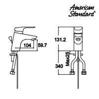 Jual Kran American Standard Tonic S or H Lavatory Faucet 2