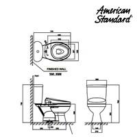 Jual Toilet American Standard Winplus CCST Toilet + Slim Smart Washer 2