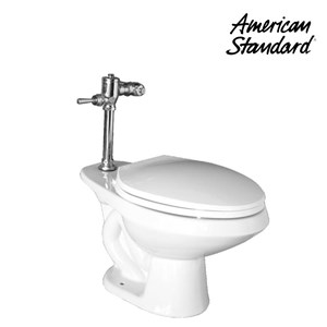 Toilet American Standard Cadet II Elongated Top Spud Toilet