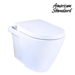 Toilet American Standard Acacia Back To Wall Toilet + Axisse Smart Washer