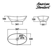 Jual Wastafel American Standard Oval Vanitory 2