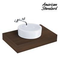 Wastafel American Standard Round Vanitory  1