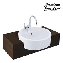 Wastafel American Standard Round Semi Cointertop V