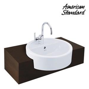 Wastafel American Standard Round Semi Cointertop Vanitory
